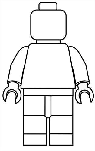 Kleurplaat Met Eigen Naam Lego Poppetje Kleurplaat Babytijd Com